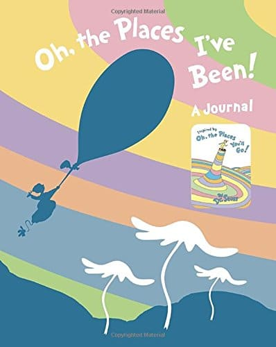 Oh, the Places I've Been! Journal | High School Graduation Gifts