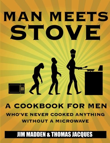 Man Meets Stove Cookbook | High School Graduation Gifts for Guys