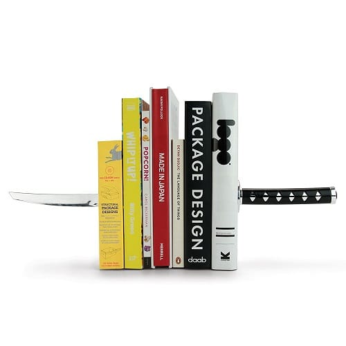 Samurai Sword Bookends | Graduation Gifts for High School Boys