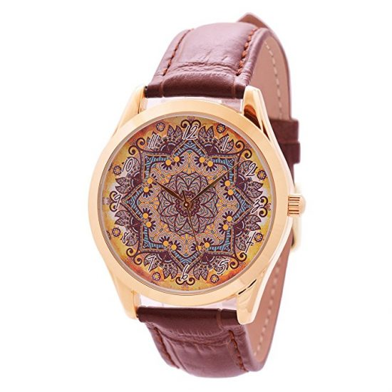 Boho Flower Pattern Watch | Mothers Day gifts from kids