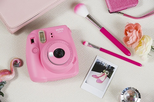 Flamingo Pink Instax Mini 9 | High School Graduation Gifts For Girls