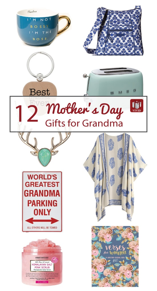Mothers Day gifts for grandma | Gifts for granny