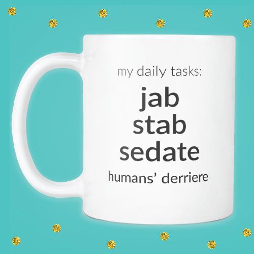 Nurses Daily Tasks Mug