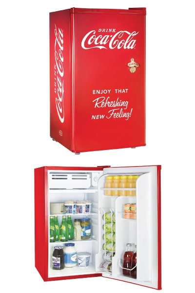 Coca-Cola Compact Refrigerator | High School Graduation Gifts For Guys