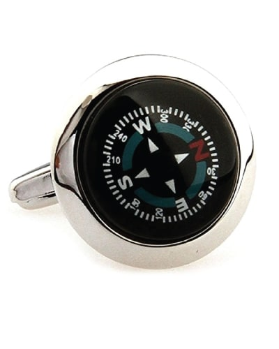 Unique Compass Cufflinks