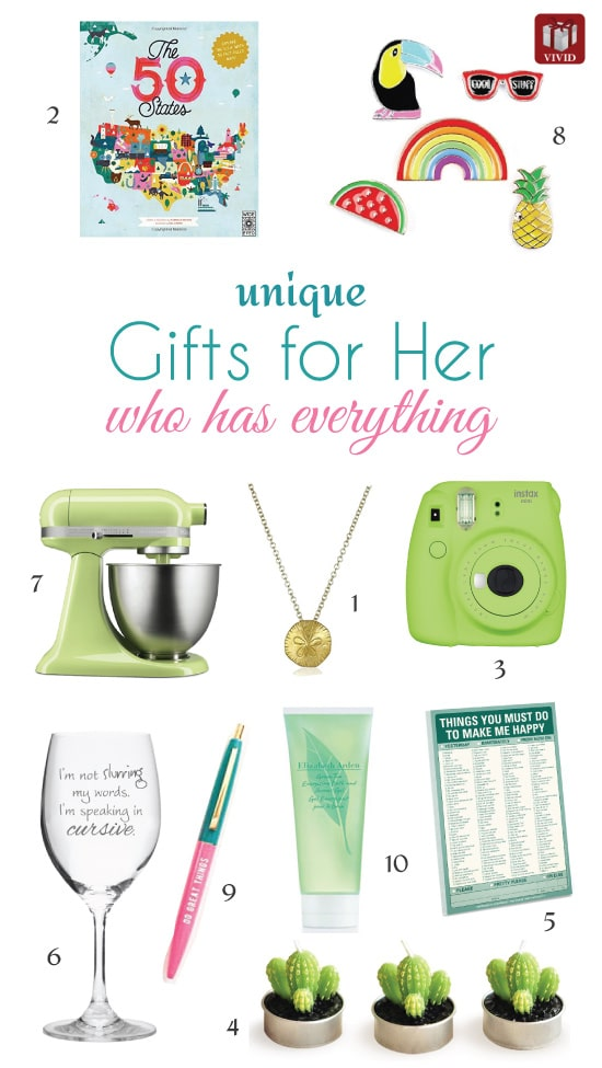 11 gift ideas for her who has everything vivid 39 s gift ideas 2017 gift ideas for her