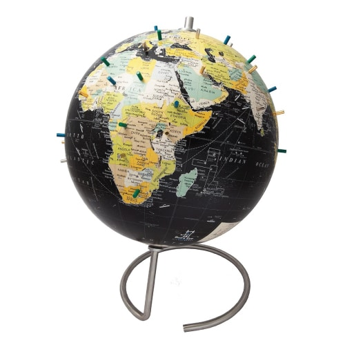 Magnetic Desk Globe | Graduation Gifts for High School Boys