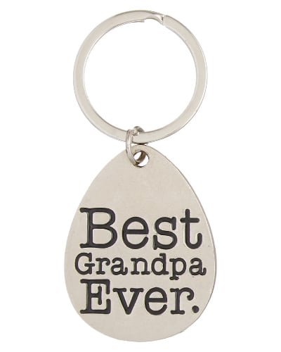 Best Grandpa Ever Keychain | Fathers Day gifts for grandpa