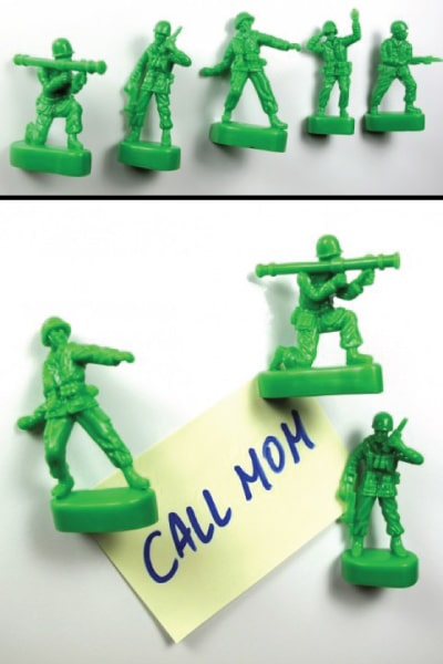 Green Army Men Push Pins | Small Graduation Gifts for Guys