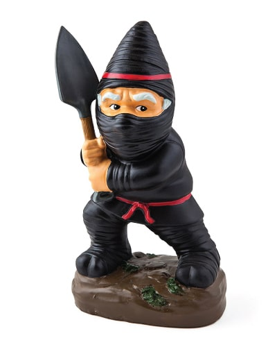 Ninja Garden Gnome Statue | Fathers Day gifts for grandpa