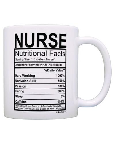 Nutritional Label Mug