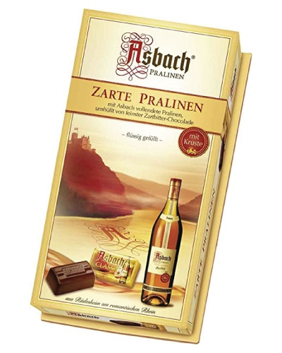 Asbach Brandy Filled Chocolate Beans   Fathers Day gift ideas