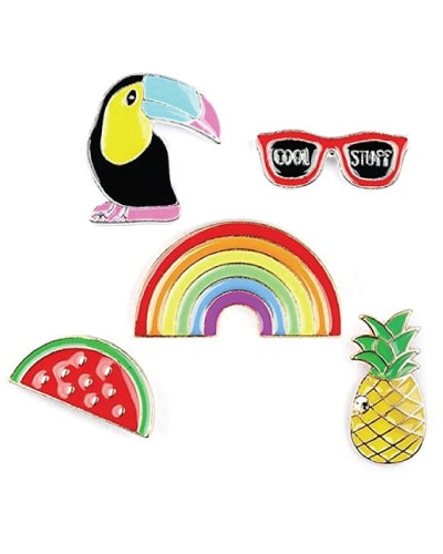 Rainbow Lapel Pin Set