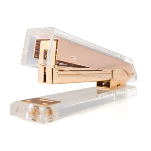 Rose Gold Stapler | School Supplies