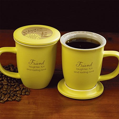 Abbey Press Friend Mug and Coaster Set | sentimental gifts for best friends