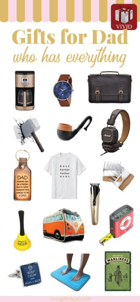 Gifts for dad who has everything | Unique Fathers Day gift ideas