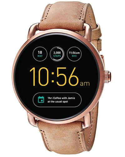 Fossil Q Wander Gen 2 Touchscreen Smartwatch. I love this smart watch so much! Great tech gift for teens.