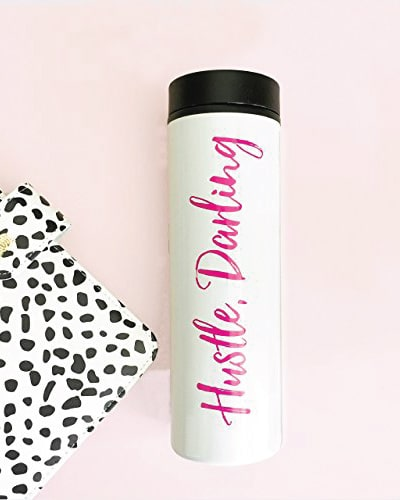 hustle darling travel mug