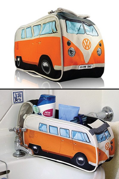 vw volkswagen camper van toiletry bag