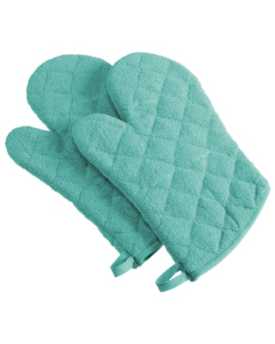 Oven Mitts | Mint Green Kitchen Decor Ideas and Accessories