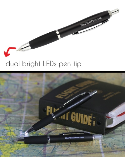 The Pilot's Pen Night Writer - Gifts For Pilots