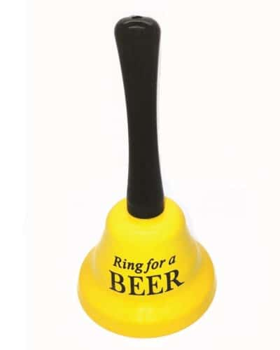 Ring for Beer Service Bell | Fathers Day gifts for dad who has everything