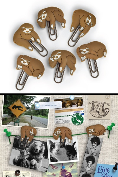 Sloths on a Vine Picture Hangers - gifts for best friends