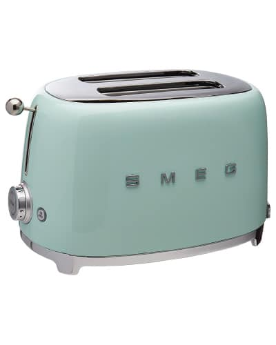 Smeg Toaster | Mint Green Kitchen Decor Ideas and Accessories