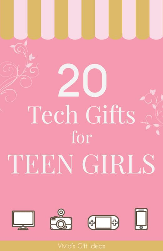 Tech Gifts For Teens. 20 awesome electronics gadgets ideas.