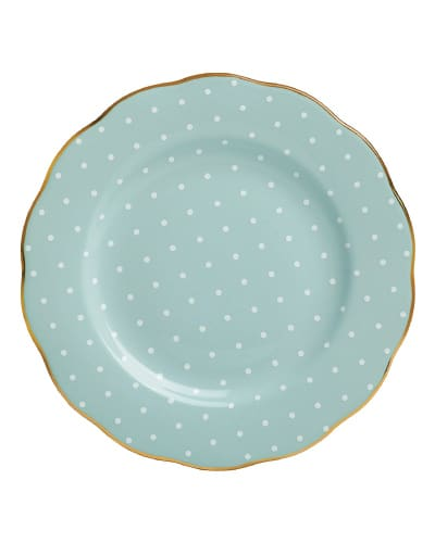 Royal Albert Vintage Salad Plate | Mint Green Kitchen Decor Ideas and Accessories