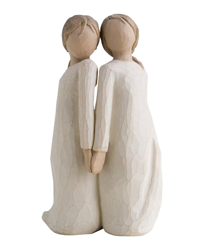 willow tree two alike friendship figurine