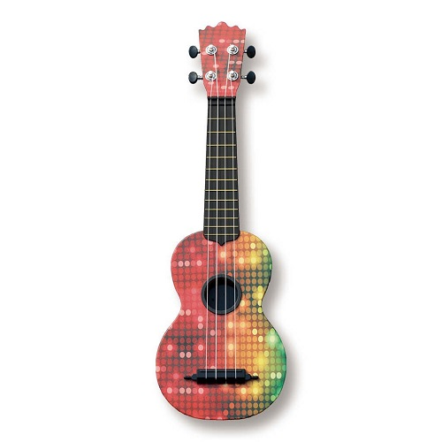 Woodi USA Soprano Ukulele. Music gifts for kids. Just Because.