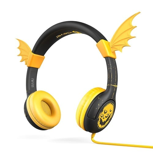 iClever Volume Limiting BoostCare Bat-Inspired Children's Over the Ear Headsets. Tech gadgets. Gifts for kids just because.