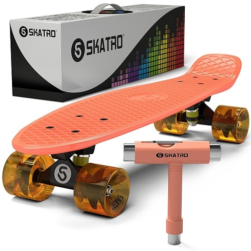 Skatro Mini Cruiser Skateboard - just because gifts for kids