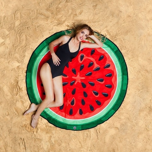 BigMouth Inc Gigantic Watermelon Beach Blanket. Beach essentials. Swimsuits 2017 Trends
