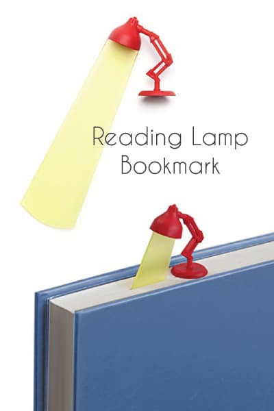 Reading Lamp Bookmark. School supplies. Just because gifts for kids.