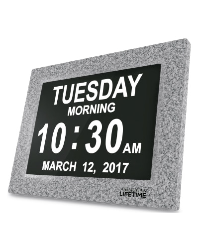 Day Clock Marble- Anniversary Gifts for Your Boyfriend