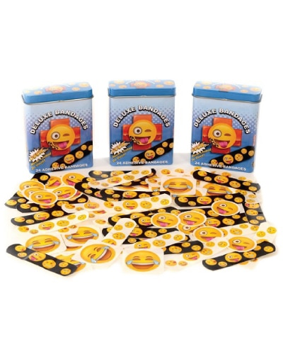 Emoji Bandages (just because gifts for kids)