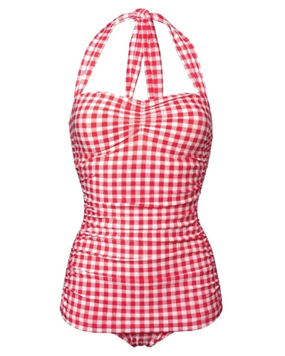 Esther Williams Pin Up Gingham Swimsuit - Swimsuits Trends