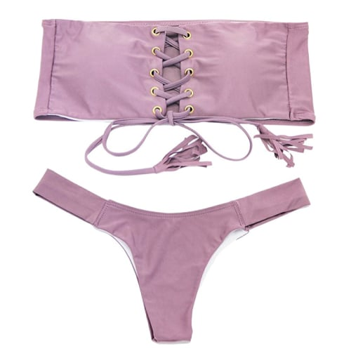Strapless Bandage Bikini - Swimsuits 2017 Trends