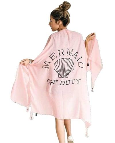 Mermaid Off Duty Beach Cover Up. Summer swimsuit beach coverup