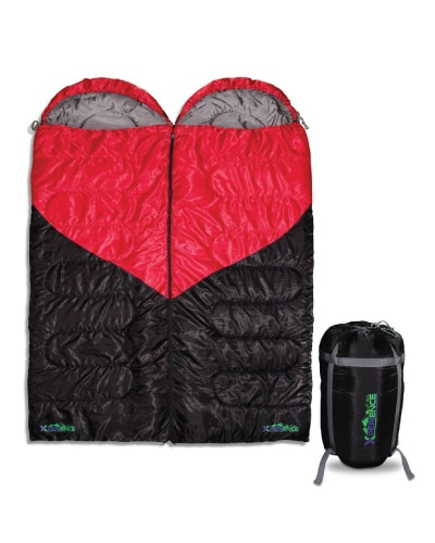 Couples Double Sleeping Bag- Anniversary Gifts for Your Boyfriend
