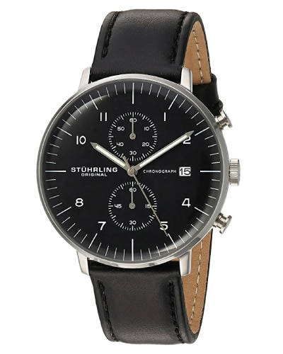 Stuhrling Original Men's Monaco Watch. Men Fashion. Anniversary Gifts for Your Boyfriend.