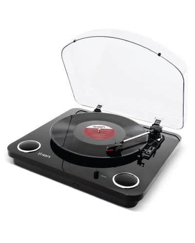 ION Audio Max LP Turntable with Built-In Speakers