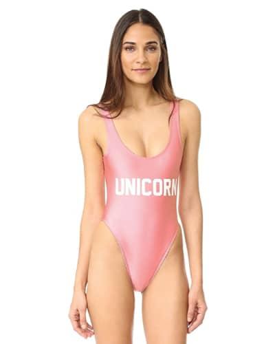 Unicorn One Piece Swimsuit - Swimsuits 2017 Trends