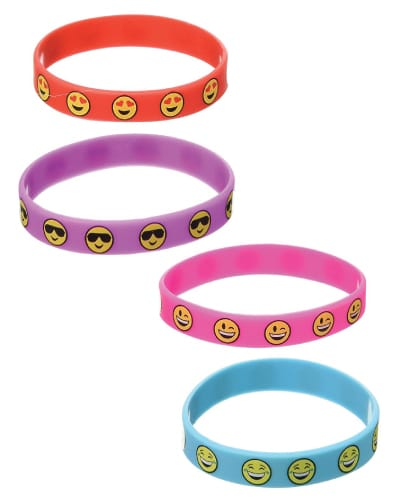 Emoji Wristbands. Kids fashion. (Gifts for kids just because)