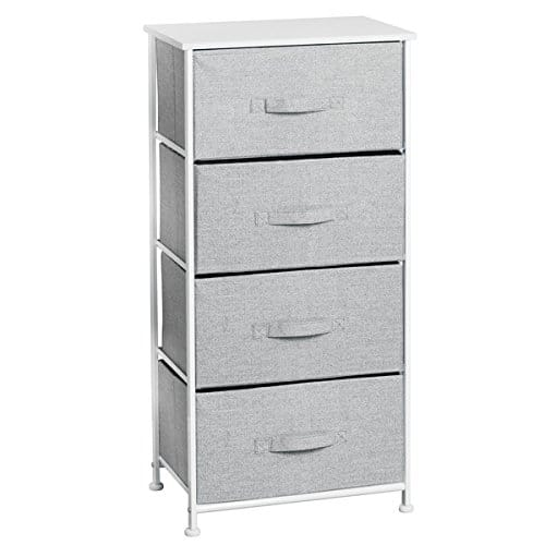 4-Drawer Storage Organizer. Dorm room organization. Dorm room ideas.