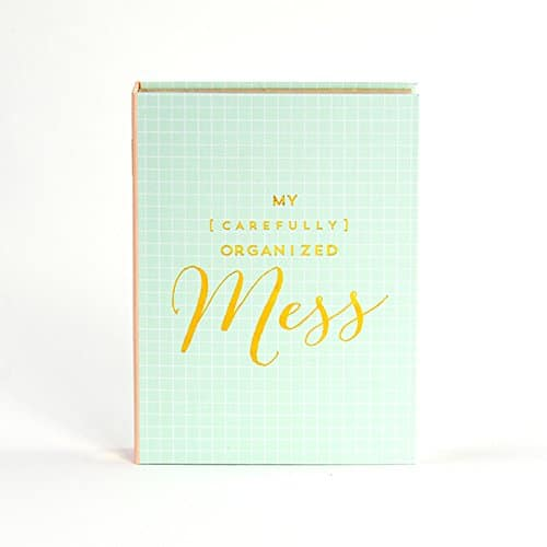 """Organized Mess"" Planner Sticky Note Pack 