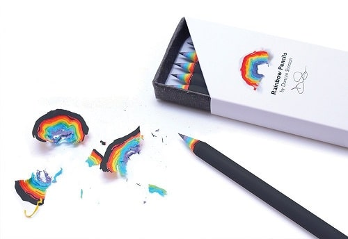 rainbow pencils - image 1