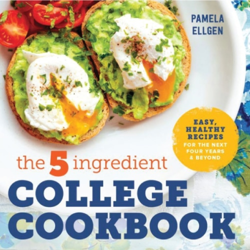 The 5-Ingredient College Cookbook. Off to college gift ideas #recipes